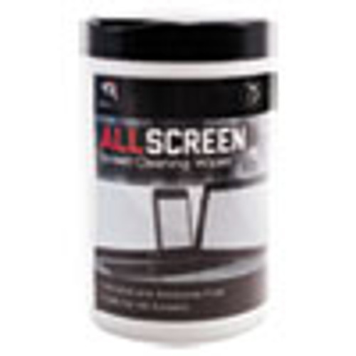 Read Right AllScreen Screen Cleaning Wipes  6  x 6   White  75 Tub (REARR15045)
