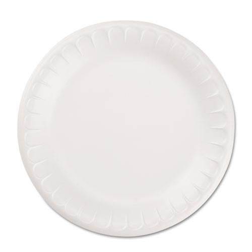 Hefty Soak Proof Tableware  Foam Plates  8 7 8  dia  100 Pack (RFPD28100)