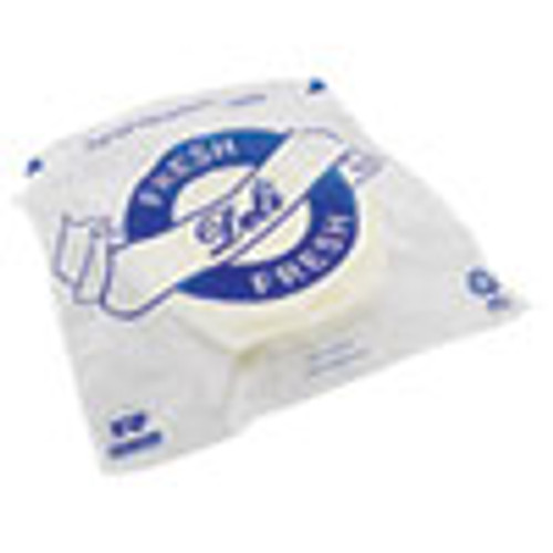 AmerCareRoyal Saddle Bags  8 5  x 8 5   Clear  2 000 Carton (RPPSB85DP)
