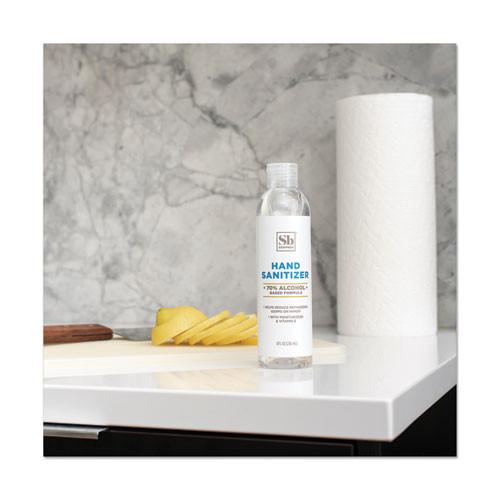 Soapbox Hand Sanitizer  8 oz Bottle with Dispensing Cap  Unscented (SBX77141EA)