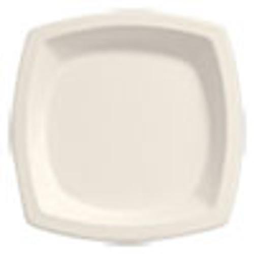 Dart Bare Eco-Forward Sugarcane Dinnerware  6 7 10  Plate  Ivory  125 Pk (SCC6PSC2050PK)