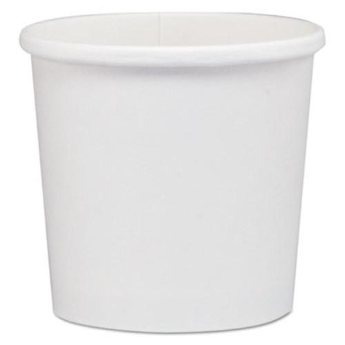 Dart Flexstyle Dbl Poly Paper Containers  WH  12 oz  3 3 5   25 Bag  20 Bags Carton (SCCHS4125WH)