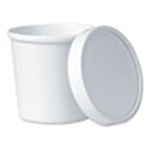 Dart Flexstyle Food Lid Container  3 6  Dia   12 1 oz  White  250 Carton (SCCKHSB12AWH)