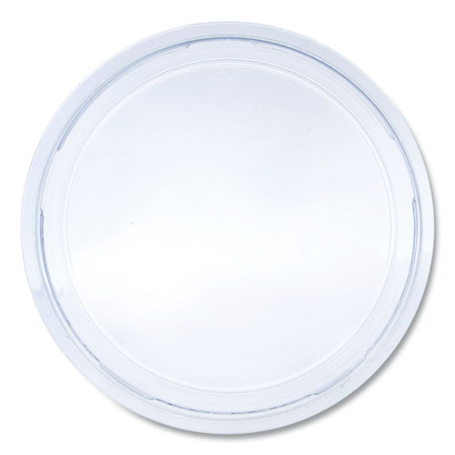 Dart Bare Eco-Forward RPET Deli Container Lids  For 8-32 oz Containers  Clear  50 Lids Sleeve  10 Sleeves Carton (SCCLG8RB)