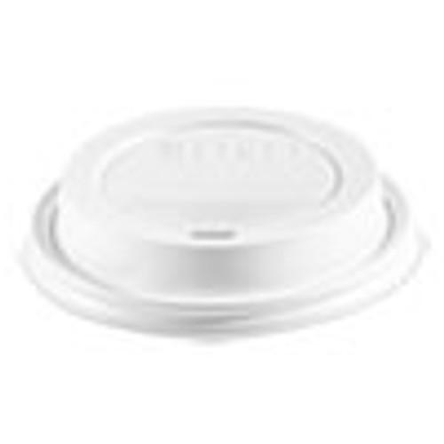 Dart Traveler Cappuccino Style Dome Lid  Polypropylene  Fits 10-24 oz Hot Cups  White  1000 Carton (SCCTLP316PP)