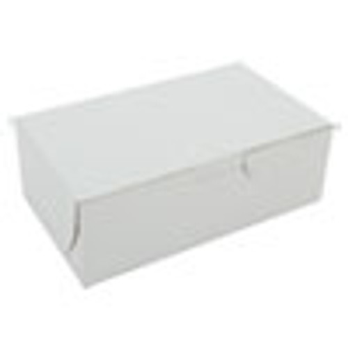 SCT Bakery Boxes  6 1 4w x 3 3 4d x 2 1 8h  White  250 per Bundle (SCH0911)