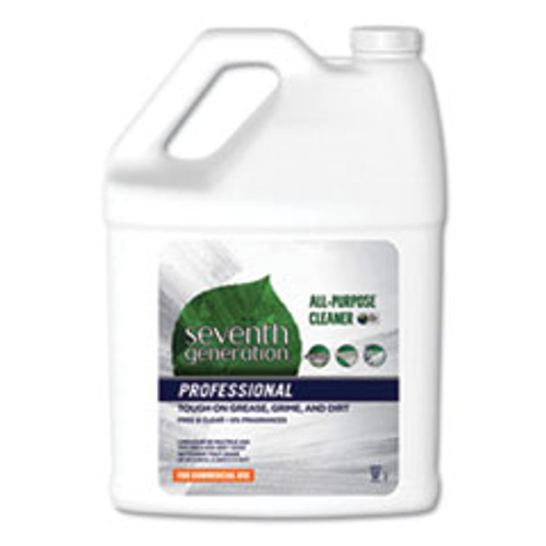 Seventh Generation Professional All-Purpose Cleaner  Free and Clear  1 gal Bottle  2 Carton (SEV44720CT)