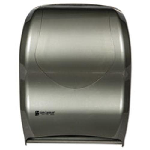 San Jamar Smart System with iQ Sensor Towel Dispenser  16 1 2 x 9 3 4 x 12  Silver (SJMT1470SS)