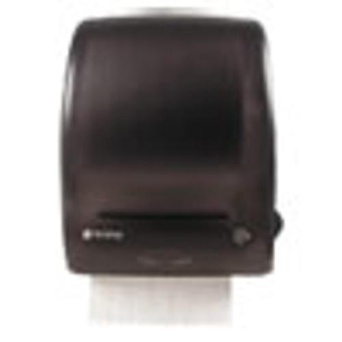 San Jamar Simplicity Mechanical Roll Towel Dispenser  15 25  x 13  x 10 25   Black (SJMT7400TBK)