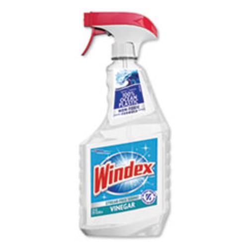 Windex Multi-Surface Vinegar Cleaner  Fresh Clean Scent  23 oz Spray Bottle (SJN312620EA)