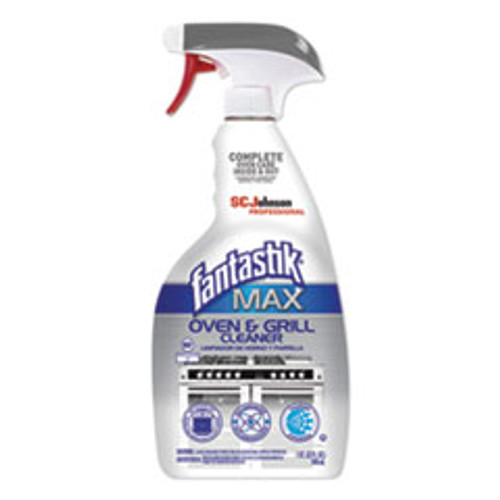 Fantastik MAX MAX Oven and Grill Cleaner  32 oz Bottle  8 Carton (SJN315227CT)