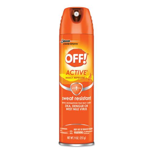 OFF! ACTIVE Insect Repellent  6 oz Aerosol  12 Carton (SJN611079)