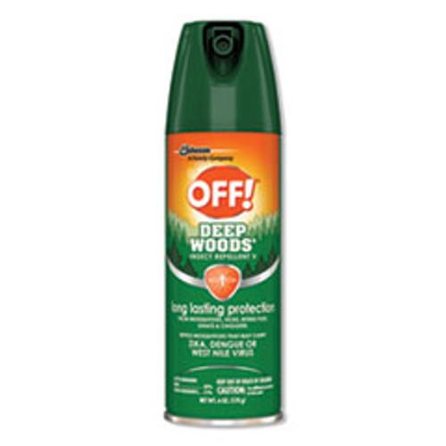 OFF! Deep Woods Insect Repellent  6oz Aerosol  12 Carton (SJN611081)