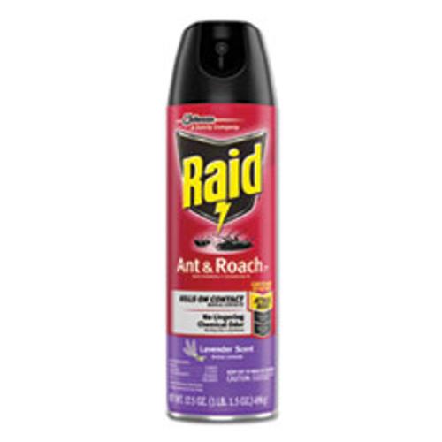 Raid Ant and Roach Killer  17 5 oz Aerosol  Lavendar (SJN660549EA)