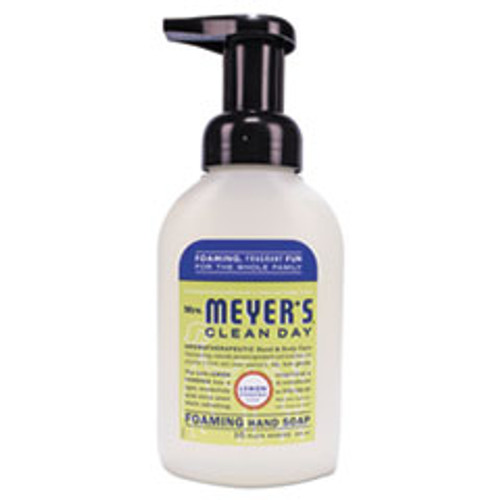 Mrs. Meyer's Foaming Hand Soap  Lemon Verbena  10 oz  6 Carton (SJN662032)