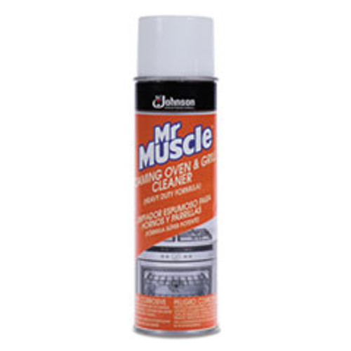 Mr. Muscle Oven Grill Cleaner  Solvent Scent  20 oz  Can  6 Carton (SJN682556)