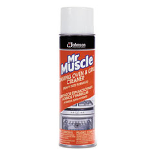 Mr. Muscle Oven   Grill Cleaner  Solvent-Like Scent  20 oz Can (SJN682556EA)