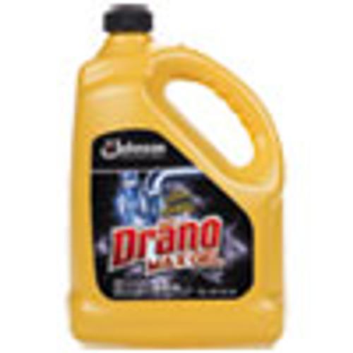 Drano Max Gel Clog Remover  Bleach Scent  128 oz Bottle  4 Carton (SJN696642)