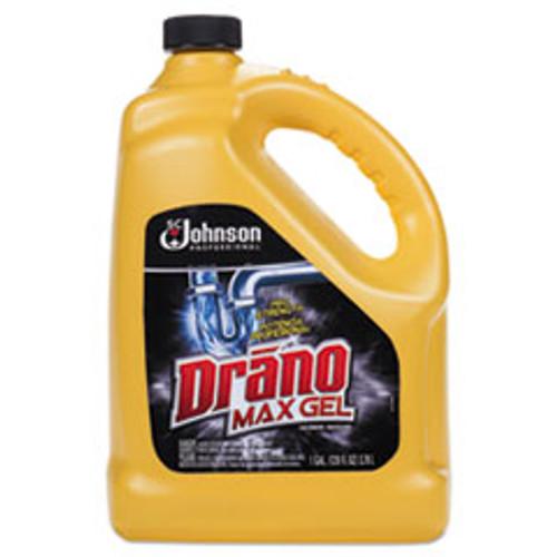 Drano Max Gel Clog Remover  Bleach Scent  128 oz Bottle (SJN696642EA)