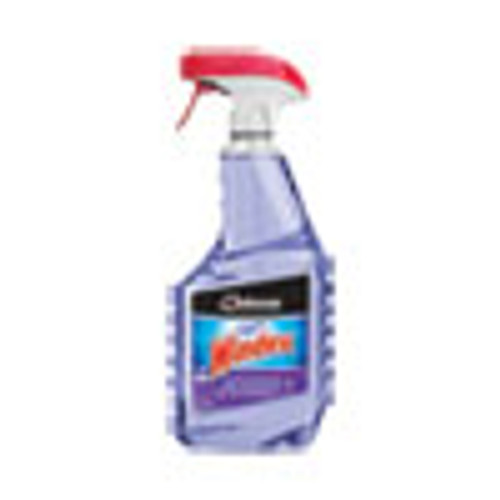 Windex Non-Ammoniated Glass Multi Surface Cleaner  Pleasant Scent  32 oz  Capped Bottle with Trigger  12 Carton (SJN697261)