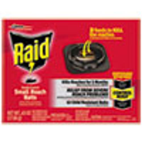 Raid Roach Baits  0 63 oz Box  12 Carton (SJN697324)