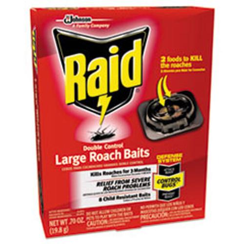 Raid Roach Baits  0 7 oz  Box  6 Carton (SJN697330)