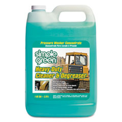Simple Green Heavy-Duty Cleaner and Degreaser Pressure Washer Concentrate  1 gal Bottle  4 Carton (SMP18203)