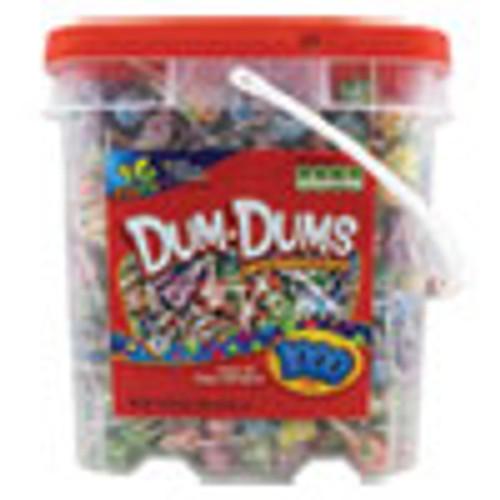 Spangler Dum-Dum-Pops  Assorted  172 oz Bucket  1000 Count (SPA75)