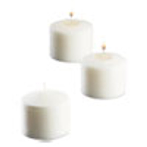 Sterno Food Warmer Votive Candles  10 Hour Burn  1 46 d x 1 33'h  White  288 Carton (STE40104)