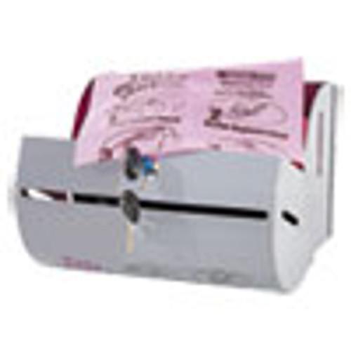 Tidy Girl Plastic Feminine Hygiene Disposal Bag Dispenser  Gray (STOTGUDPV2)