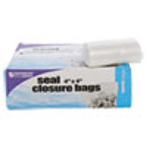 Stout by Envision Seal Closure Bags  2 mil  4  x 4   Clear  1 000 Carton (STOZF001C)
