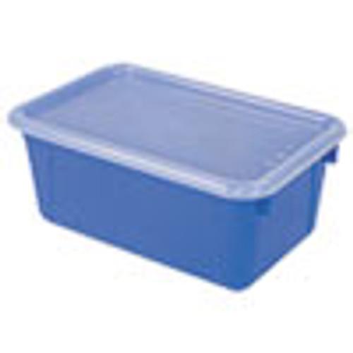 Storex Cubby Bins  12 25 x 7 75 x 5 13  Blue  6 PK (STX62408U06C)