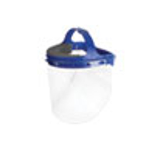 Suncast Commercial Fully Assembled Full Length Face Shield with Head Gear  16 5 x 10 25 x 11  16 Carton (SUAHGASSY16)