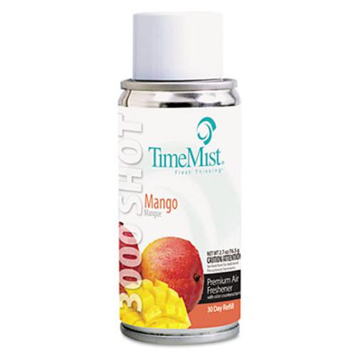 TimeMist 3000 Shot Micro Metered Air Freshener Refill  Mango  3 oz Aerosol  12 Carton (TMS1042430)