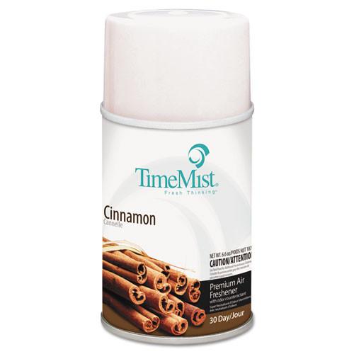 TimeMist Premium Metered Air Freshener Refill  Cinnamon  6 6 oz Aerosol  12 Carton (TMS1042746)