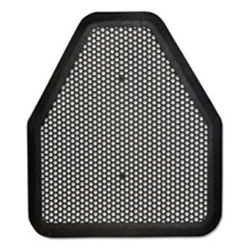 TOLCO Urinal Mat  20 75 x 18 5  Black  6 Carton (TOC220206)