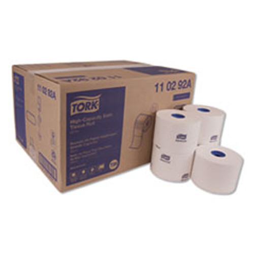 Tork Advanced High Capacity Bath Tissue  Septic Safe  2-Ply  White  1 000 Sheets Roll  36 Carton (TRK110292A)