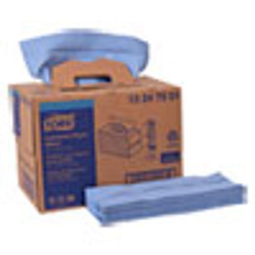 Tork Industrial Paper Wiper  4-Ply  12 8 x 16 5  Blue  180 Carton (TRK13247501)