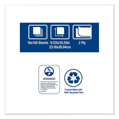Tork Windshield Towel  9 13 x 10 25  Blue  140 Pack  16 Packs Carton (TRK192122)