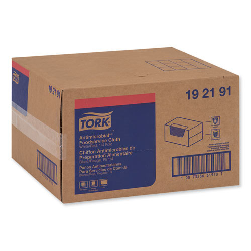 Tork Foodservice Cloth  13 x 24  White  150 Carton (TRK192191)