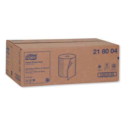 Tork Hardwound Roll Towels  7 88  x 800 ft  Natural White  6 Rolls Carton (TRK218004)