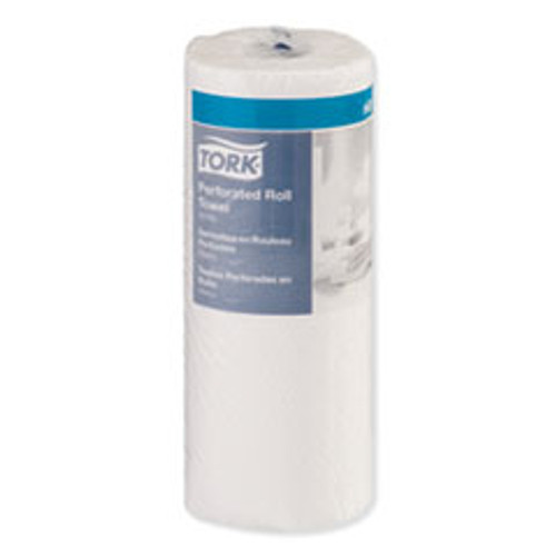 Tork Perforated Towel Roll  2-Ply  11 x 9  White  100 Roll  30 Roll Carton (TRK421900)
