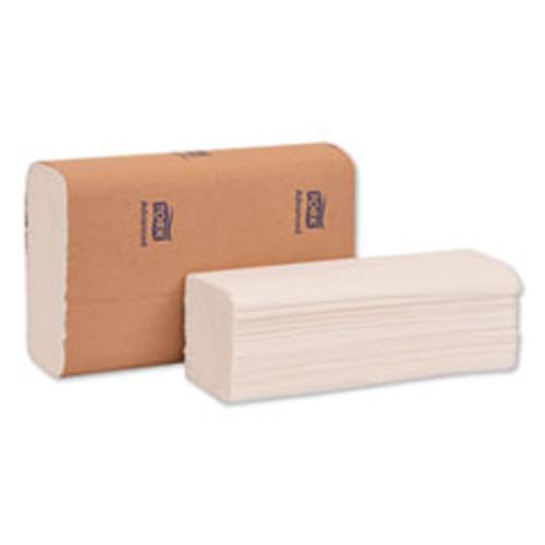 Tork Advanced Multifold Hand Towel  9 x 9 5  White  250 Pack  16 Packs Carton (TRK424824)