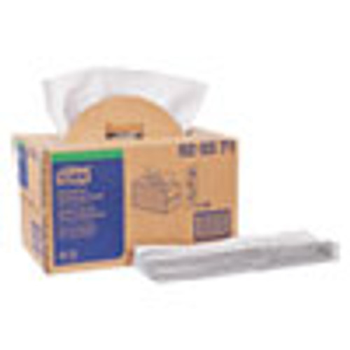 Tork Industrial Cleaning Cloth Handy Box  1-Ply  14 x 16 9  Gray  280 Pack (TRK520371)