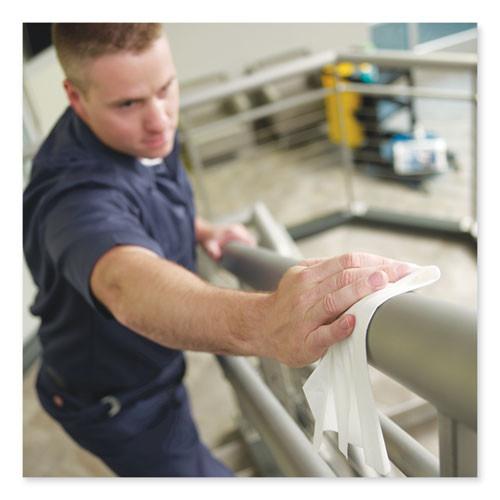 Tork Heavy-Duty Cleaning Cloth  12 6 x 13  White  50 Pack  6 Packs Carton (TRK5301505)