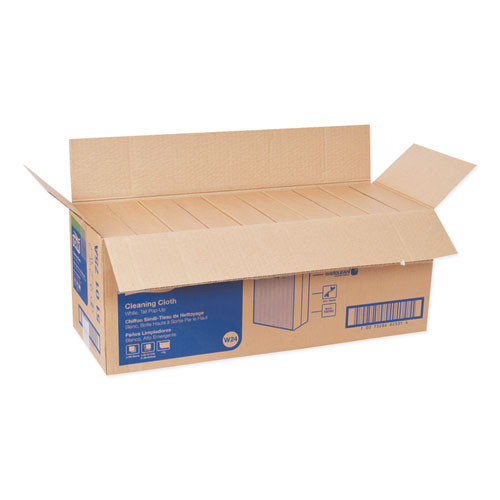 Tork Heavy-Duty Cleaning Cloth  8 46 x 16 13  White  80 Box  5 Boxes Carton (TRK5301755)