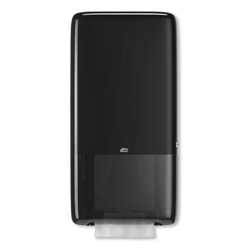 Tork PeakServe Continuous Hand Towel Dispenser  14 57  x 3 98  x 28 74   Black (TRK552528)