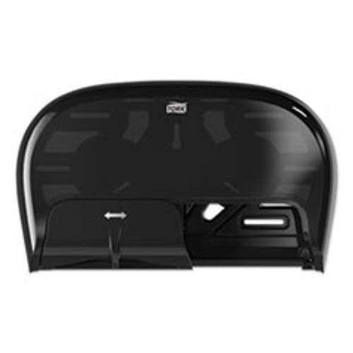Tork High Capacity Bath Tissue Roll Dispenser for OptiCore  16 62 x 5 25 x 9 93 Black (TRK565528)