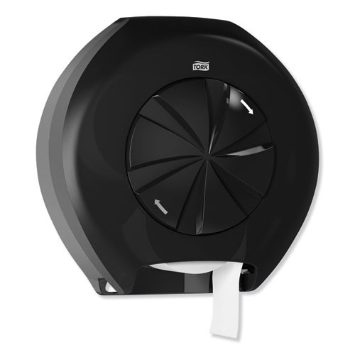 Tork 3 Roll Bath Tissue Roll Dispenser for OptiCore  14 12 x 6 31 x 14 56  Black (TRK565828)