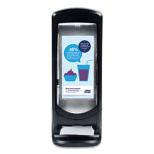 Tork Xpressnap Stand Napkin Dispenser  9 1 4W x 9 1 4D x 24 1 2H  Black (TRK6332000)